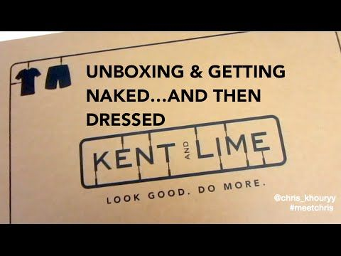 Guys Clothes   Kent and Lime Unboxing   Meet Chris