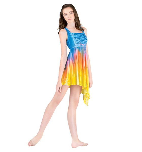 Hairstyles For A Lyrical Dance : Lyrical dress style number wc discountdance