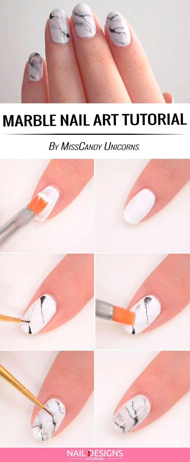 Cute And Easy Nail Designs to Do at Home ★ See more: https://naildesignsjournal.com/easy-nail-designs/ #nails #nails