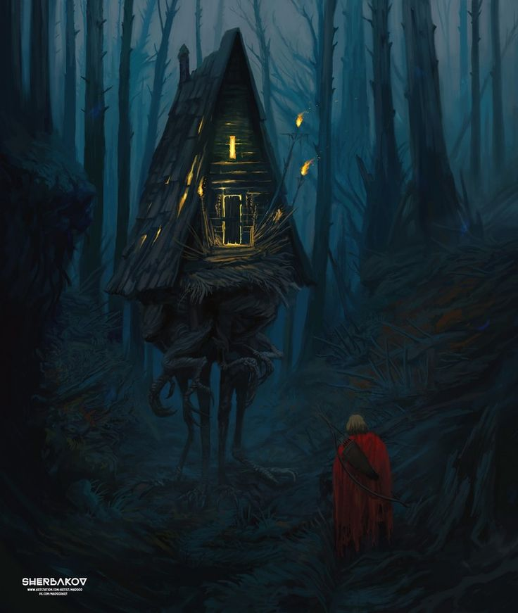 Baba Yaga's hut only works by if you know the password for her house or if Yaga has gave you he right to pass the house and be one the house also. she uses a spell make the house run away from people are trying to attack her.