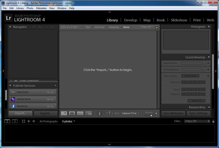 Adobe photoshop lightroom 4 инструкция