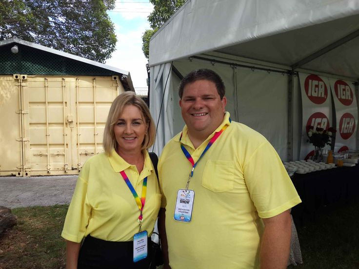 Marketing team members Tracy and Ben! Both students from Hunter TAFE.