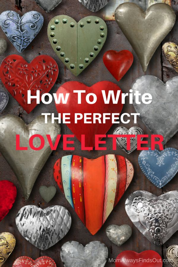 how to write the perfect love letter To write love letters you need more than just creativity a perfect love letter comes out of no set formula so read on to know more romantic phrases.
