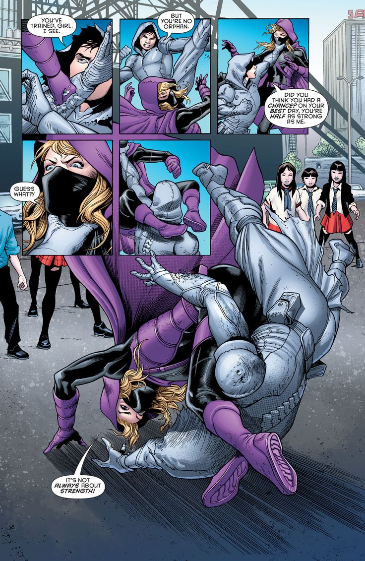Spoiler: Stephanie Brown in Batman & Robin Eternal # 24 - Art by Alvaro Martinez & Raul Fernandez