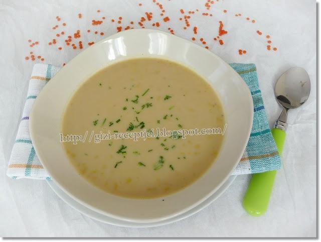 Fűszeres vörös lencse-leves