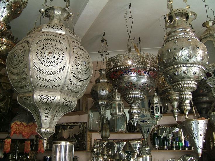 Lanternes, Souk Marrakech