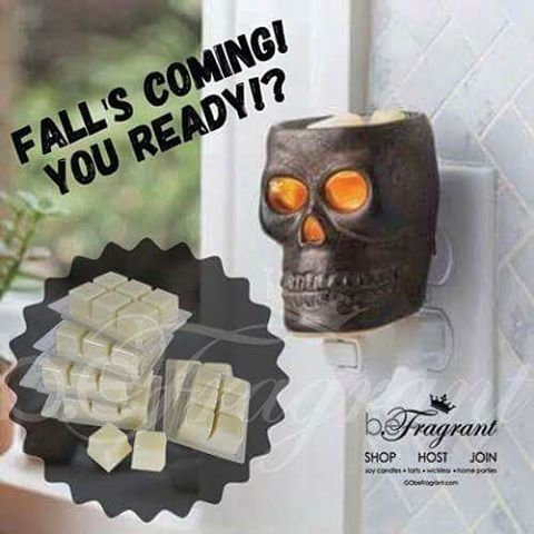 Are You Falling for Fall !? SHOP http://corporate.gobefragrant.com/shop/Wax-Warmers/Skull-Plug-In-Wax-Warmer.php?xpage=category&express_checkout=  #fall #decorate #holiday #halloween #October #decor #waxwarmer #warmer #skull #plugin #shop #decorate #melts #soywax #scent #scented #USA #soywax #waxmelts #scents #smellssogood #getstarted #workathome #business #opportunity #wahm #momlife #business #fragrance #smells
