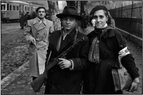 photo par Jean-Pierre Pedrazzini, 1956 Budapest