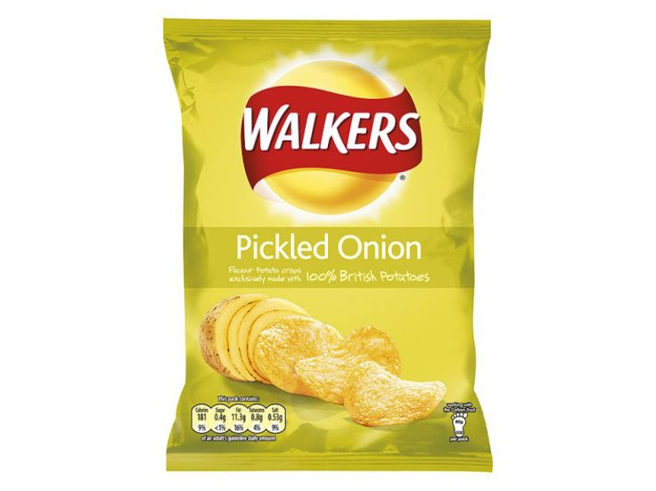 Walkers Pickled Onion Crisps - World of Snacks