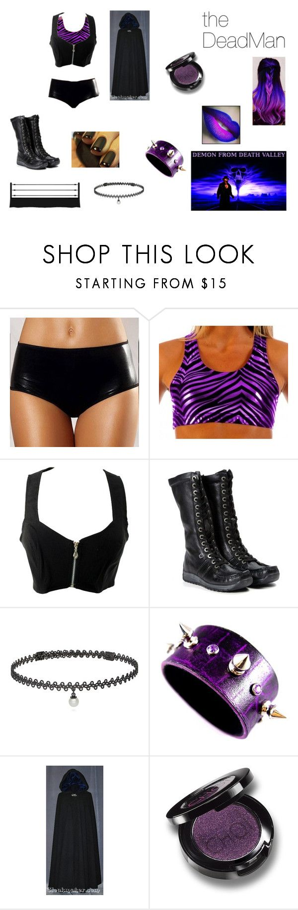 """""""The Undertaker"""" by diamond-heart2016 ❤ liked on Polyvore featuring Rebecca Taylor, BERRICLE and D&G"""