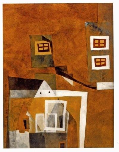 Lajos Vajda -Floating Houses 1937