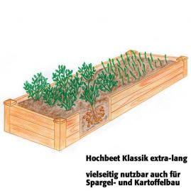 Hochbeet Klassik extra-lang, Akazienholz