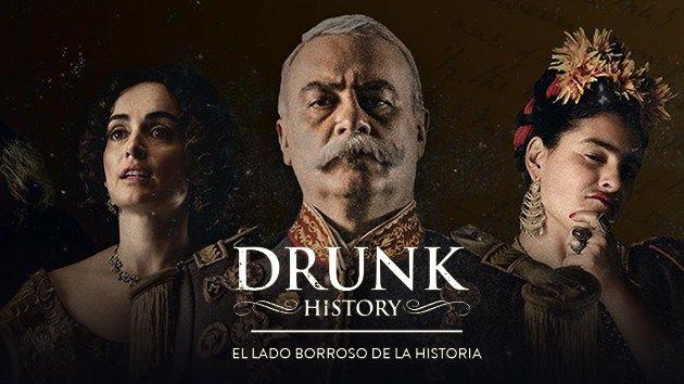 Maratón de Drunk History por Comedy Central #series #tv