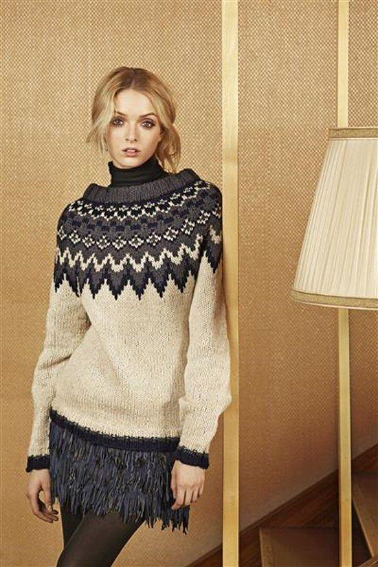 Islandsk  polarstjerne damesweater