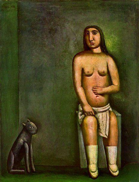 1922 - Carlo Carrà - The House of Love