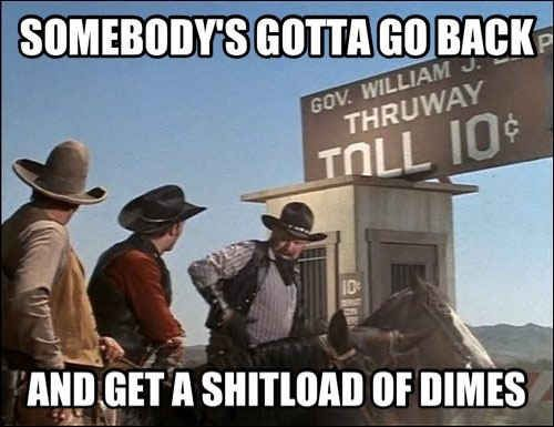 The Blazing Saddles tollbooth scene. | 29 Of The Most Ingenious Moments From Mel Brooks Movies