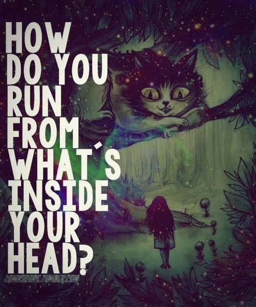 Disney Alice In Wonderland Quote: Creepy Alice In Wonderland