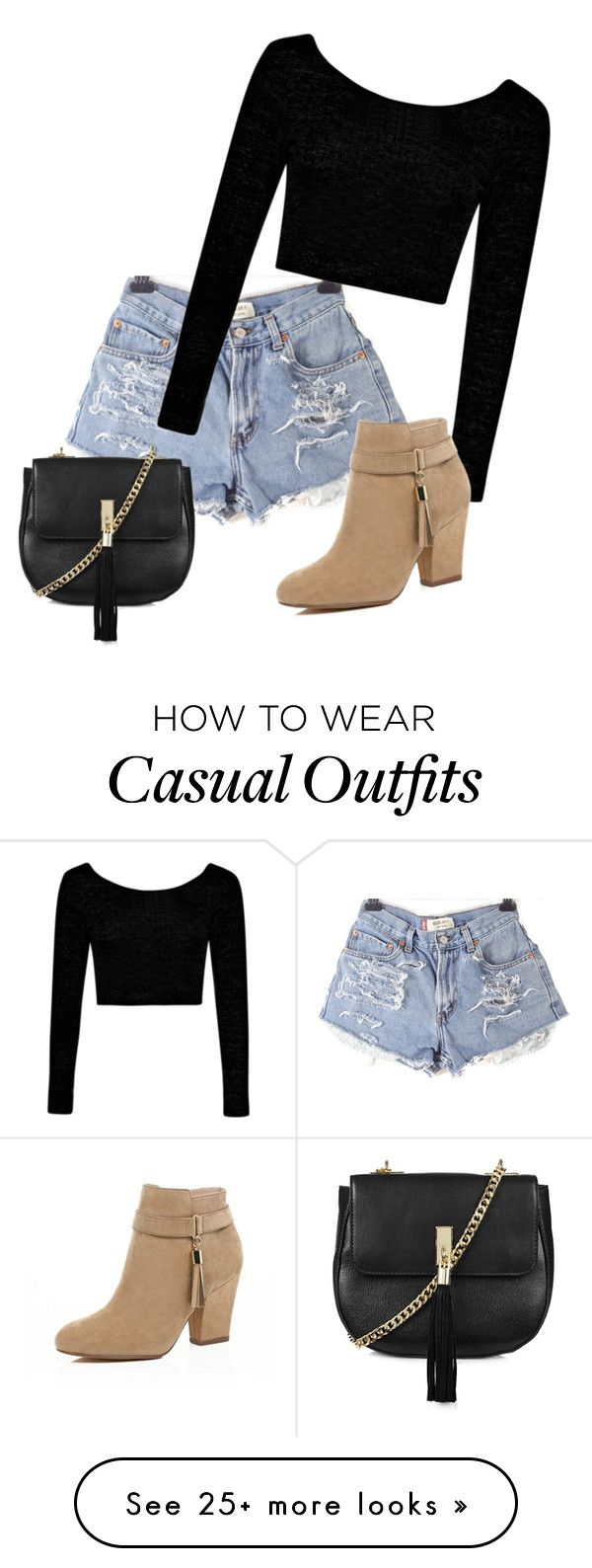 """Casual Date"" by infinitygirl on Polyvore featuring Boohoo, River Island and…"