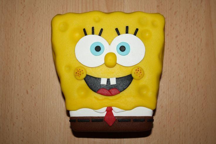 Karin's Taarten: Spongebob-taart