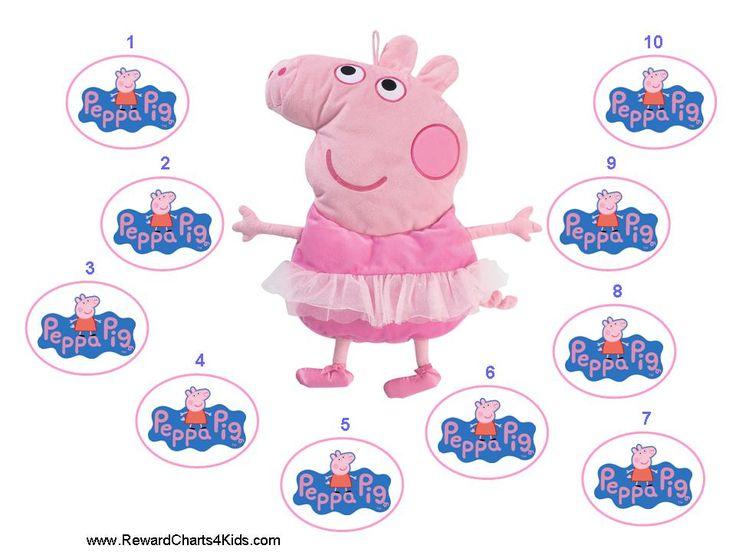 Printable Reward Charts | Peppa pig, Printable reward ...