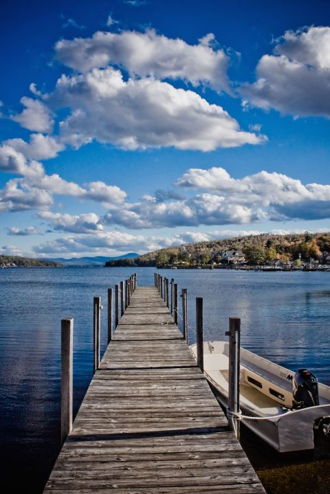 Life revolves around the mirror-like Lake Winnipesaukee in this laid-back town. Resorts dot the shores, giving residents a good excuse to play tourist for the day. However, the most fun way to explore might bethe Winnipesaukee Scenic Railroad.  Rent Bette Davis' New Hampshire farm»