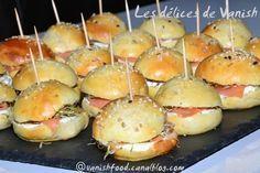 pain hamburger-saumon boursin-graines germées-apéritif