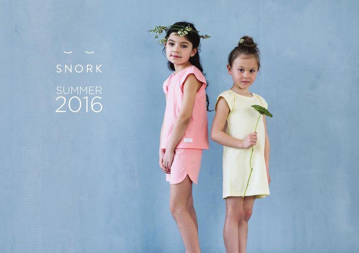 SNORK Copenhagen Lookbook SS16