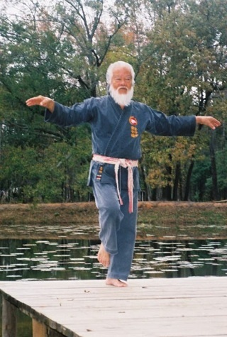 ...I'd spend several months in Okinawa studying karate at the OSMKKF Hombu Dojo.