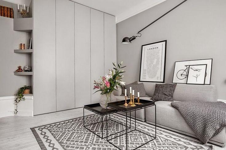 Дизайн квартир-студий площадью 30-40 кв.м.