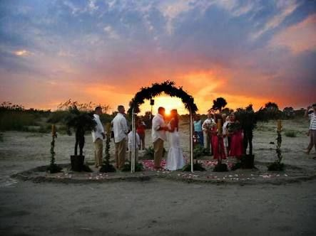 Image result for sunset weddings on the beach