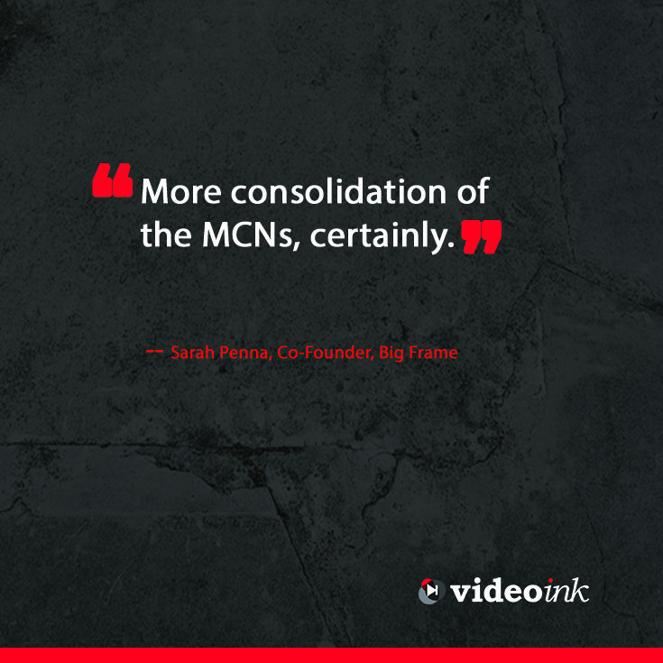 Could it be that this year more MCN's work together in order to build a stronger presence. Read more of the predictions for online video here: http://www.thevideoink.com/features/special-issue/2015-predictions-industry/#.VMKEz8akQsc #online #quotes #predictions #digitalmedia