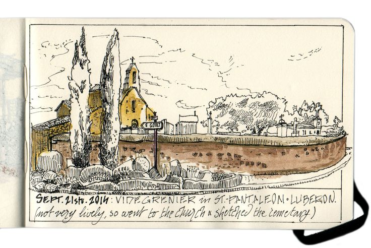 Moleskine - myMoleskine - Vide Grenier in Saint Pantaleon, Provence