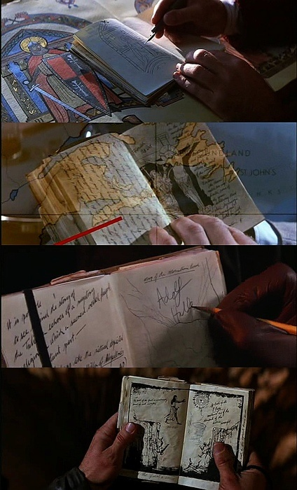 Indiana Jones - the long ago inspiration for my little black book of secrets!