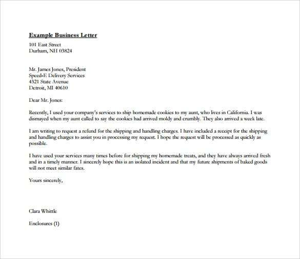 Professional Letter Templates Business Letter Format Business