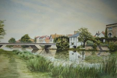 St Neots town bridge, Peter Nelson, Peter L Nelson, SAA Professional Members' Galleries