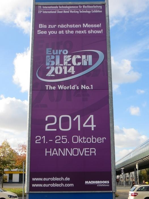 EuroBlech - see you in 2014