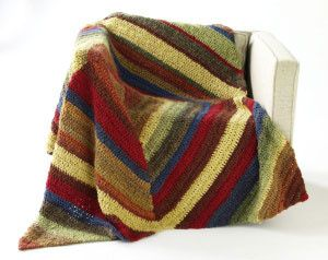 Three Bridges Throw...making it in four colors rather than eight...tan, yellow, orange and green colors of homespun.