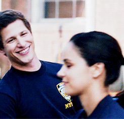 Jake Peralta & Amy Santiago Brooklyn 9 9❤ The Finest Television Present Ever ❤