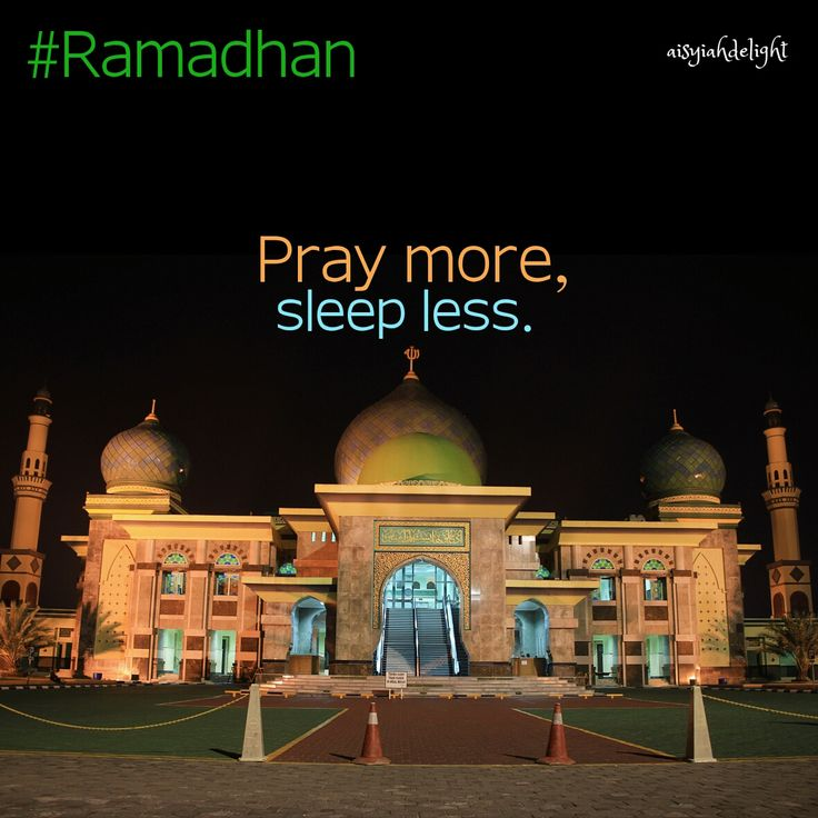 Goal this Ramadan: Sleep less, pray more!! Not everyone gets a chance to see Ramadhan again, so if you do get the chance- spend your Ramadhan wisely & be grateful to have yet another blessed opportunity :) Marhaban Yaa Ramadhan..  #pekanbaru #riau #indonesia