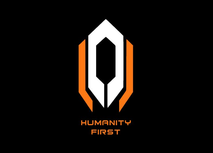 Mass Effect Cerberus Humanity First Decal 2 Colors Vinyl