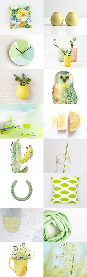 Citrus Touch  by Alana on Etsy--Pinned with TreasuryPin.com