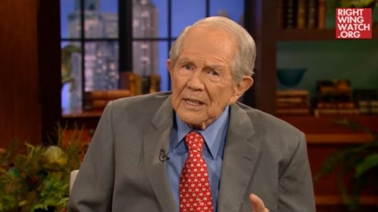 "Pat Robertson: There's a ""Demonic"" Component to Multiple Sclerosis and Jesus Is Part of the Cure"