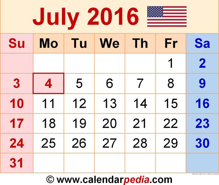 July 2016 Holidays Philippines