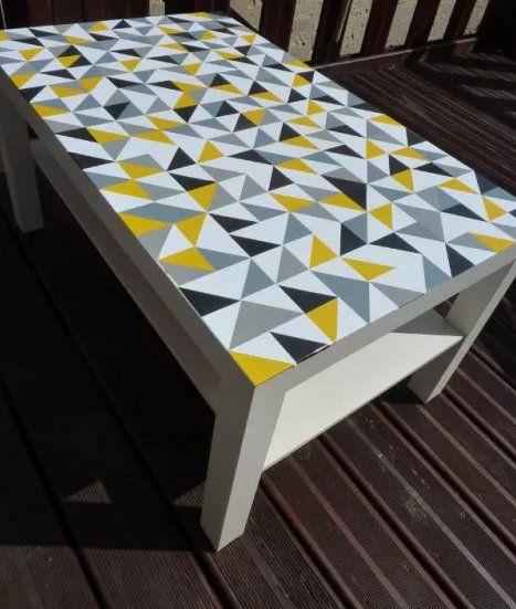 personnaliser customiser une table basse ikea