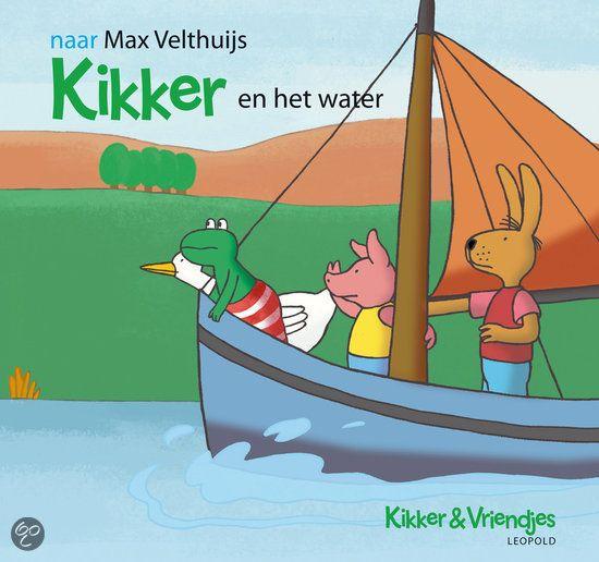 Kikker En Het Water - naar Max Velthuijs (uitg. Leopold)