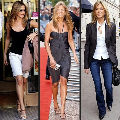 "Holy smokes just look at this woman's style! Is she ever a ""Glamour Don't?""  Is she really close to my age? Why do I feel like I'm wearing a bag most of the time compared to her? When you need a sophisticated, classy, stylish look, just refer to pictures of Jennifer Anniston!"