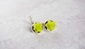 nacklace earring succulent