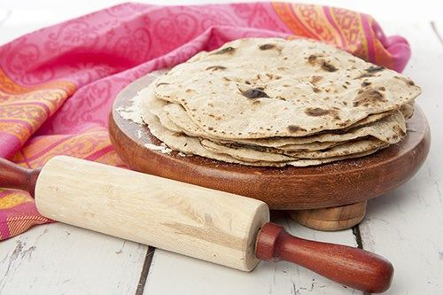 Homemade Chapati Indian thermomix bread