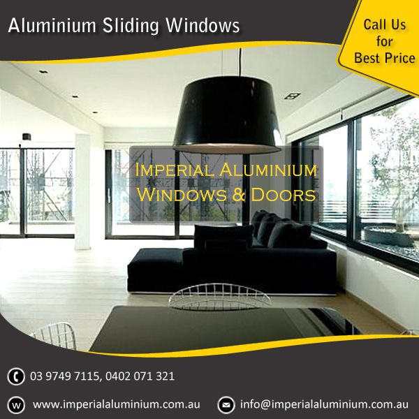 Imperial Aluminium Sliding Window