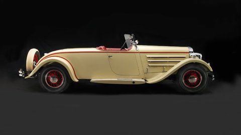 Art Deco Car - A 1930 Jordan Model Z Speedway from the collection of Edmund J. Stecker Family Trust.